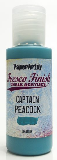 Captain Peacock - Fresco Finish PaperArtsy