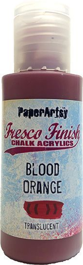Blood Orange - Fresco Finish PaperArtsy