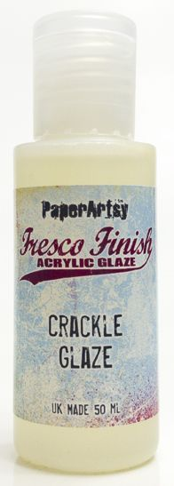 Crackle Glaze - Fresco Finish PaperArtsy