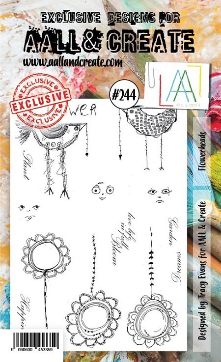 Stamp #244 - AALL & Create