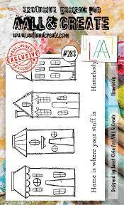 Stamp #283 - AALL & Create