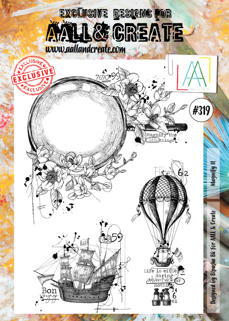 Stamp #319 - AALL & Create