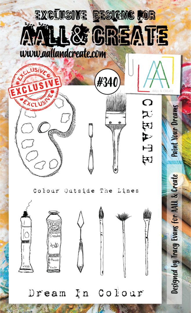Stamp #340 - AALL & Create