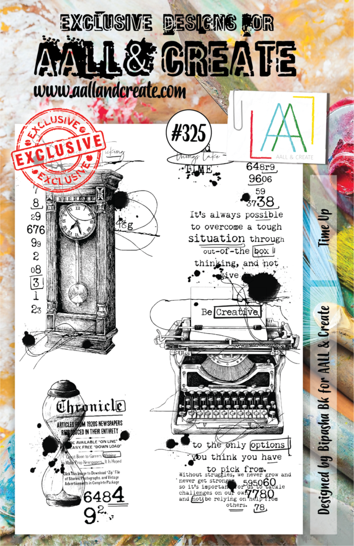 Stamp #325 - AALL & Create