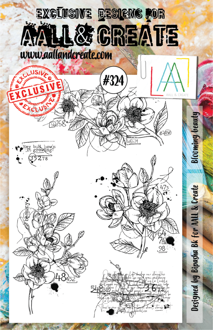 Stamp #324 - AALL & Create
