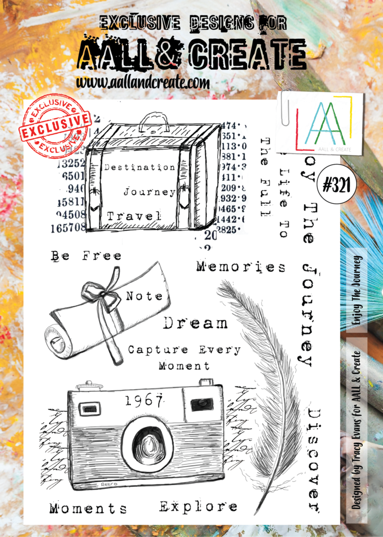 Stamp #321 - AALL & Create