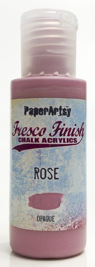 Rose - Fresco Finish PaperArtsy