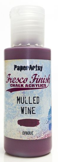 Mulled Wine - Fresco Finish PaperArtsy