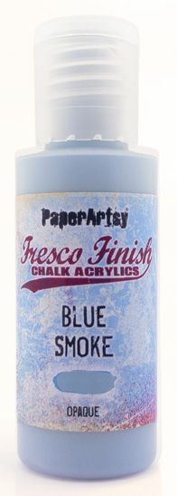 Blue Smoke - Fresco Finish PaperArtsy