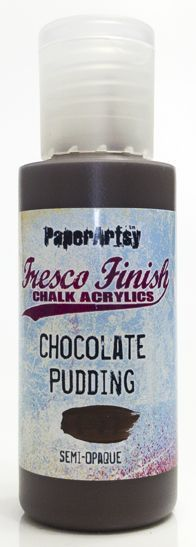 Chocolate Pudding - Fresco Finish PaperArtsy