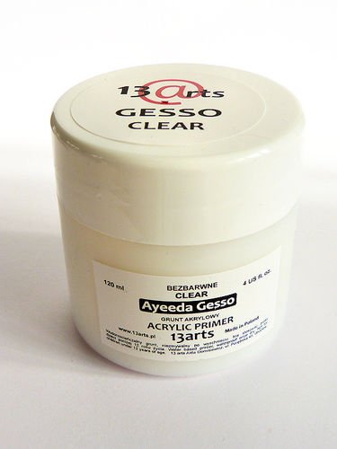 Gesso clear - 13Arts - 500 ml