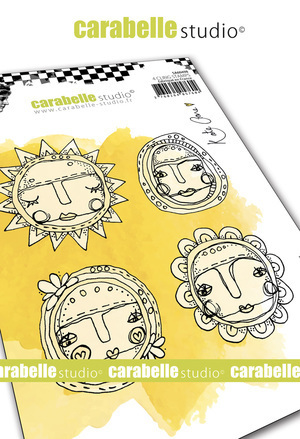 Cling Stamp A6 : Art Dolls by Kate Crane - Carabelle Studio