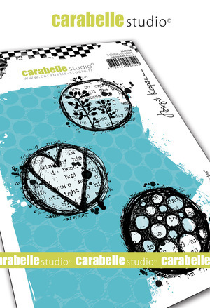 Cling Stamp A6 : Playful Circles by Brigit Koopsen - Carabelle Studio