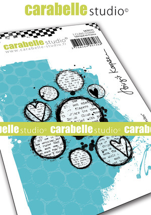 Cling Stamp A7 : Lovely Circles by Brigit Koopsen - Carabelle Studio