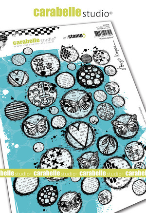 Cling Stamp A5 : Circles Galore by Brigit Koopsen - Carabelle Studio