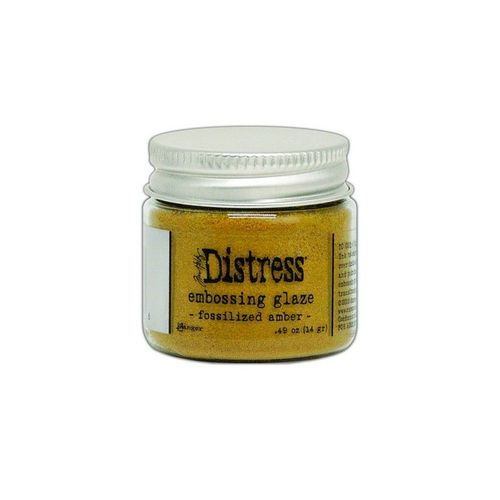 Distress Embossing Glaze - Fossilized Amber
