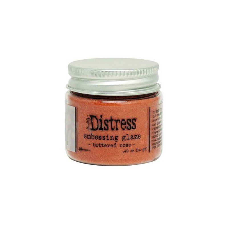 Distress Embossing Glaze - Tattered Rose