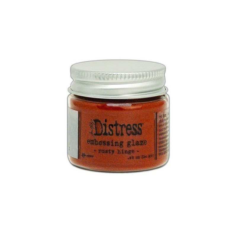 Distress Embossing Glaze - Rusty Hinge