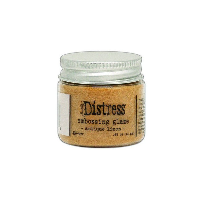 Distress Embossing Glaze - Antique Linen
