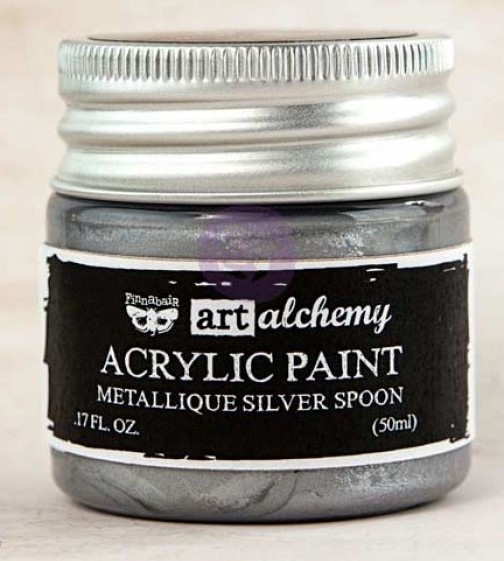 Silver Spoon - Acrylic Paint Metallique Prima Marketing
