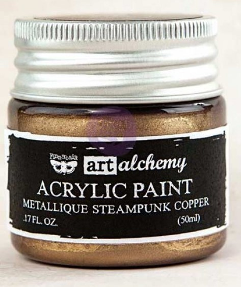 Steampunk Copper - Acrylic Paint Metallique Prima Marketing
