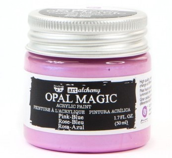Pink Blue - Acrylic Paint Opal Magic Prima Marketing