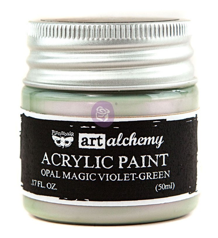 Violet Green - Acrylic Paint Opal Magic Prima Marketing