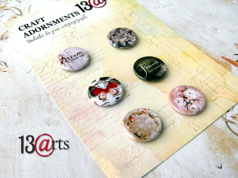Badge set - set 6 pezzi