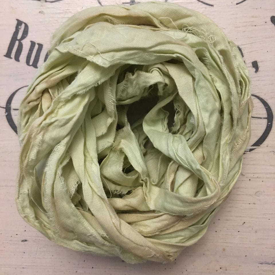 Nastro lino Old Fashion Ribbons - Vintage Lemon #24