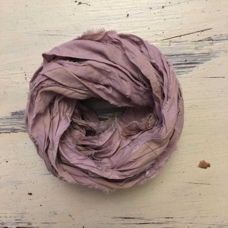 Nastro lino Old Fashion Ribbons - Vintage Dirty Lavender #27