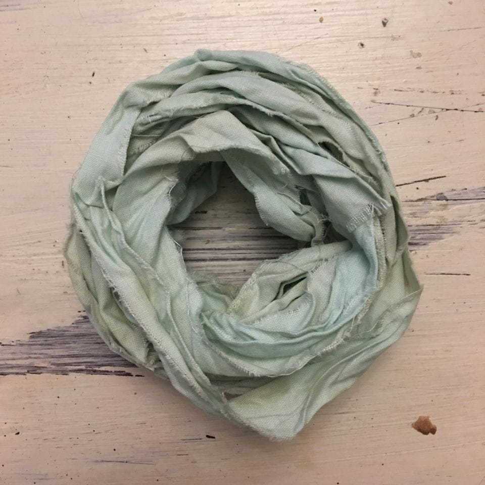 Nastro lino Old Fashion Ribbons - Vintage Dirty Mint #26