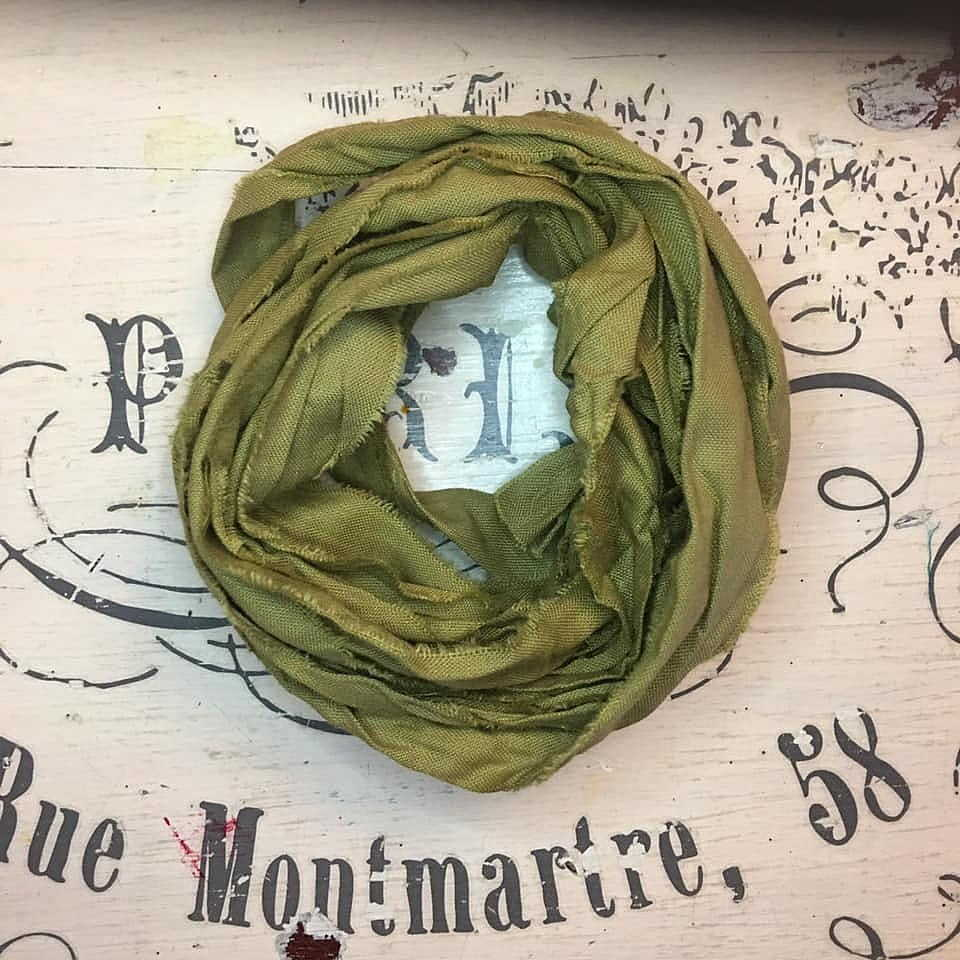 Nastro lino Old Fashion Ribbons - Vintage Olive #19