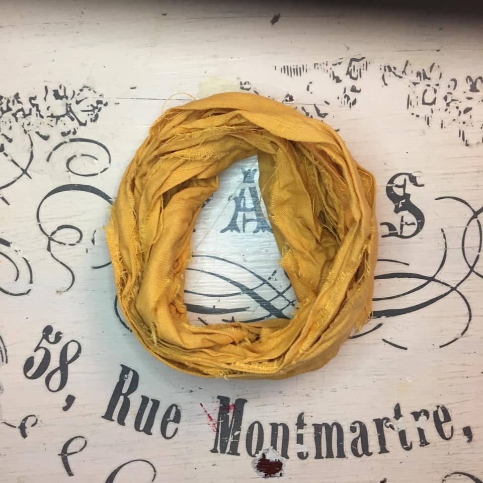Nastro lino Old Fashion Ribbons - Vintage Mustard #22